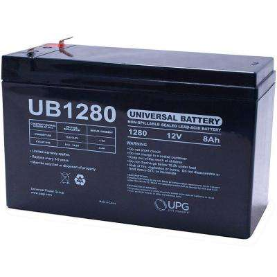 12V 8Ah F1 AGM Battery