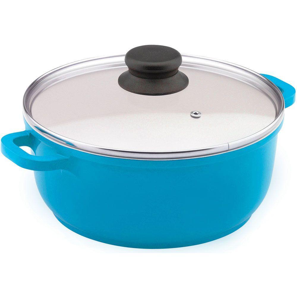 Vinaroz 6.8 qt. Casserole with Ceramic Non-Stick Coating in Blue