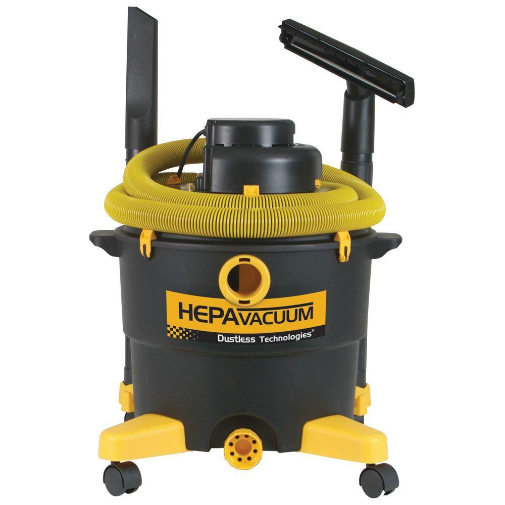 Dustless Technologies 16 Gal. HEPA Wet+Dry Vacuum by Dustless Technologies
