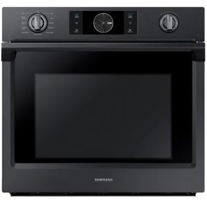 Single Electric Wall Oven Self Cleaning With Steam Cooking And Dual Convection In Black Stainless Nv51k7770sg The Home Depot