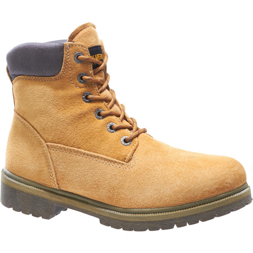 Work Boots - Soft Toe-W01191 7.5M