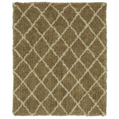 Wishbone Beige Linen 8 ft. x 10 ft. Area Rug