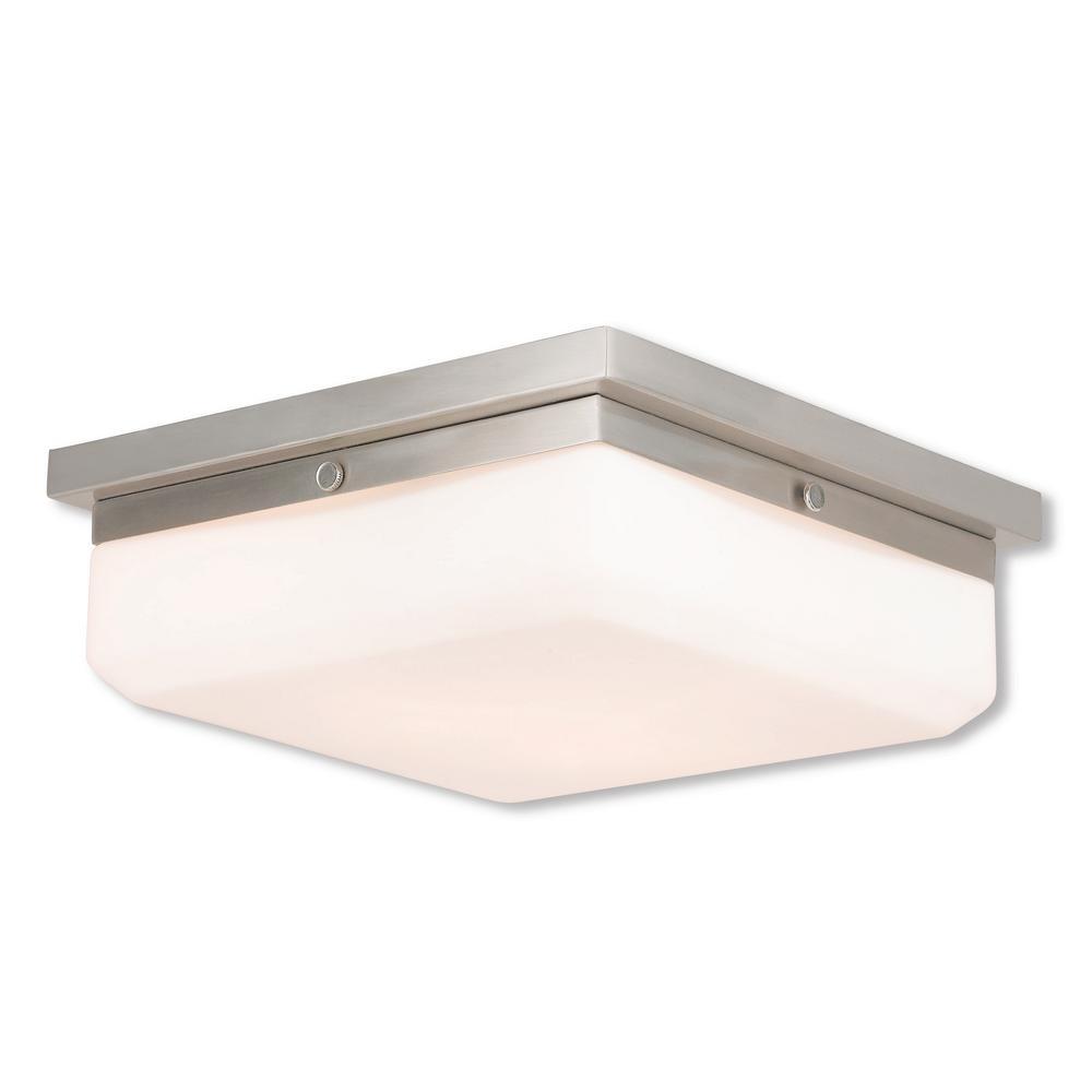 Allure 3-Light Brushed Nickel ADA Sconce