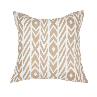 Fire Island Hemp Square Outdoor Accent Lounge Throw Pillow
