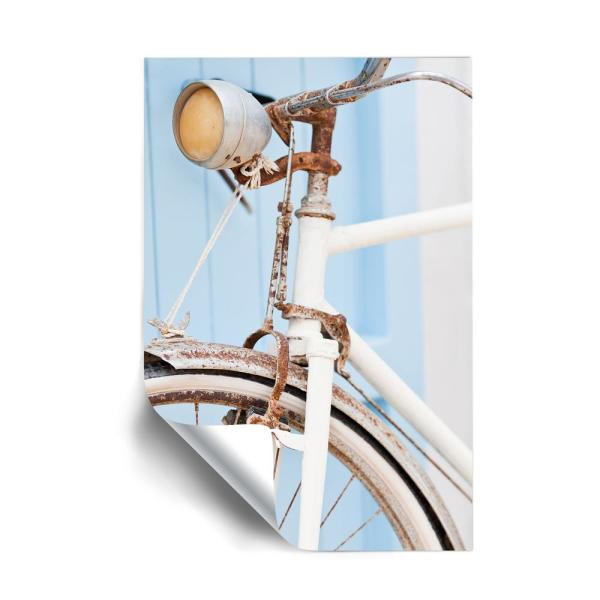 Old Bike Contemporary Removable Wall Mural