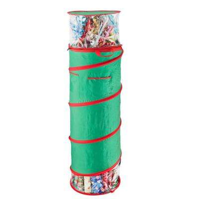 40 in. Tall Pop Up Gift Wrap Foldable Storage Bag