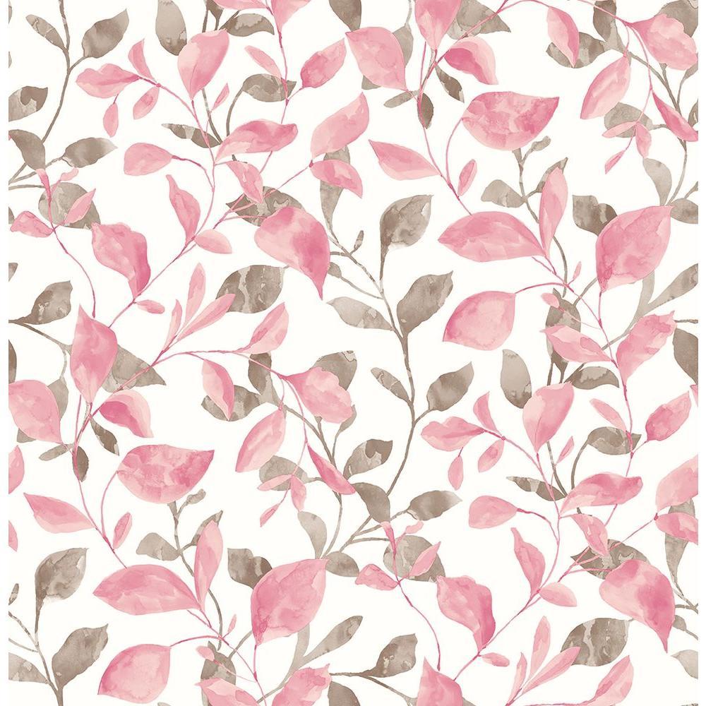 Catalina Trail Pink Vine Wallpaper
