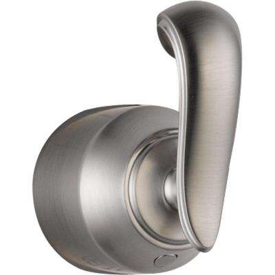 Cassidy Hand Shower/Diverter Valve French Curve Metal Lever Handle in Stainless