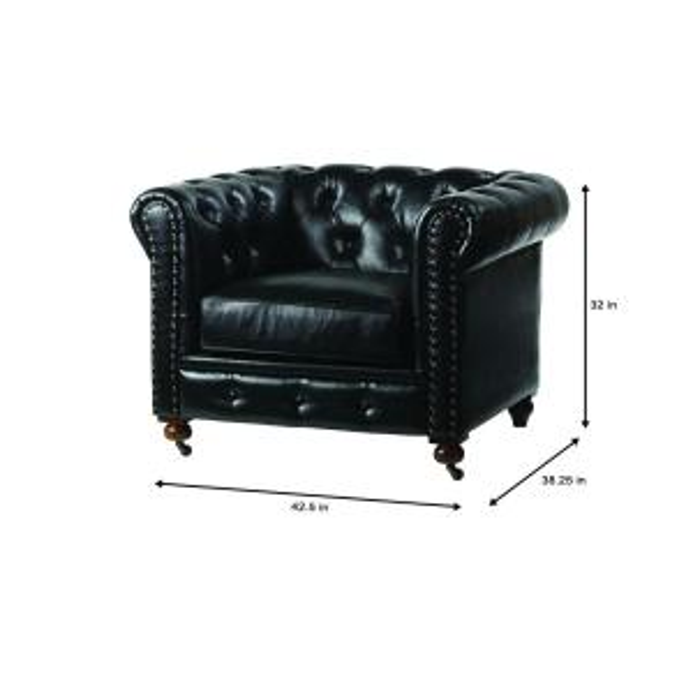 Strange Home Decorators Collection Gordon Black Leather Arm Chair Bralicious Painted Fabric Chair Ideas Braliciousco