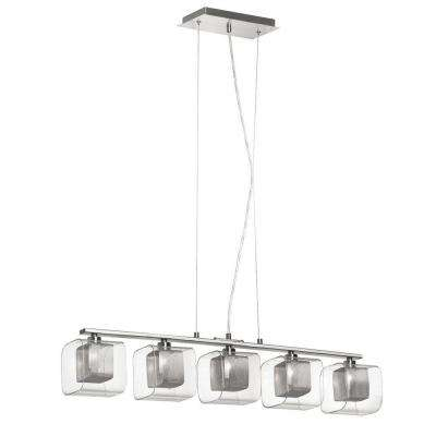 Catherine 5-Light Polished Chrome Pendant