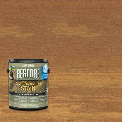 1 gal. Semi-Transparent Stain Timberline with NeverWet