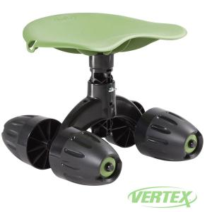 Vertex Garden Rocker Rolling Seat Gb1300 The Home Depot