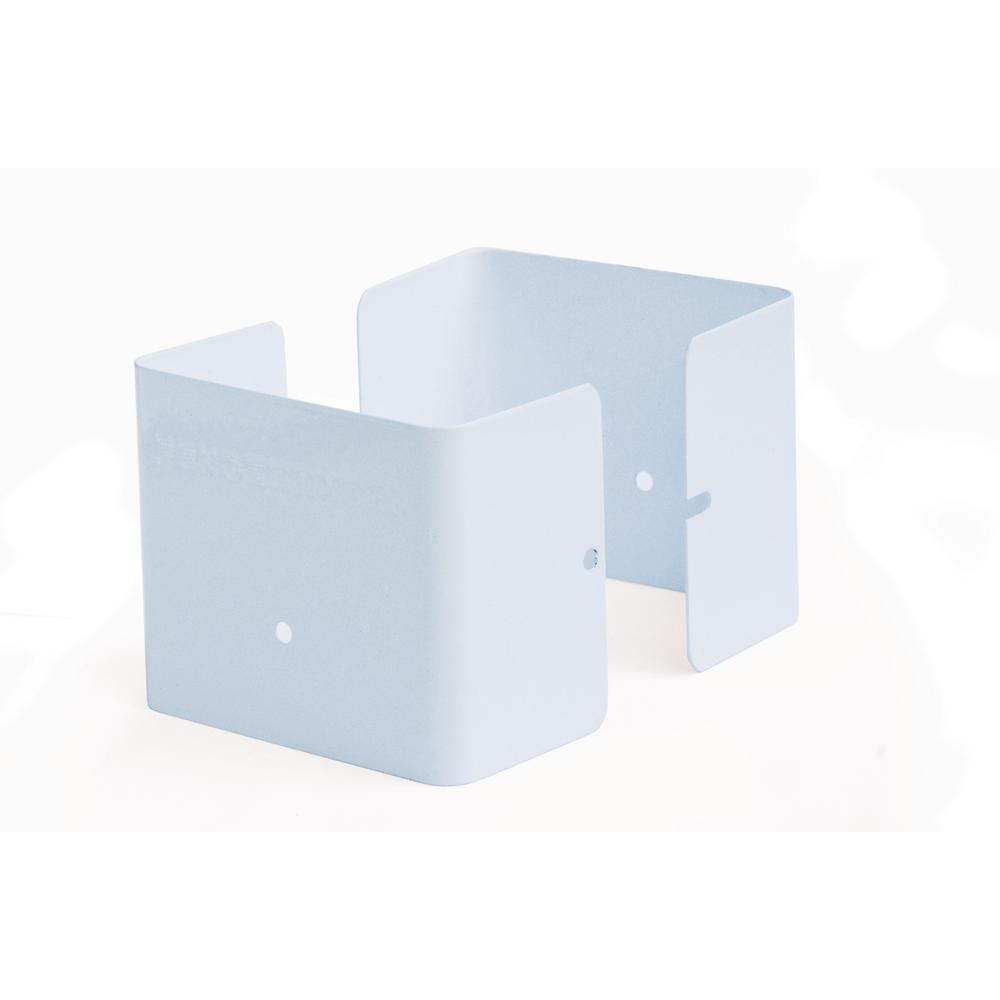 Fence Armor White Fence Post Guard 3.5 In. L X 3.5 In. W X