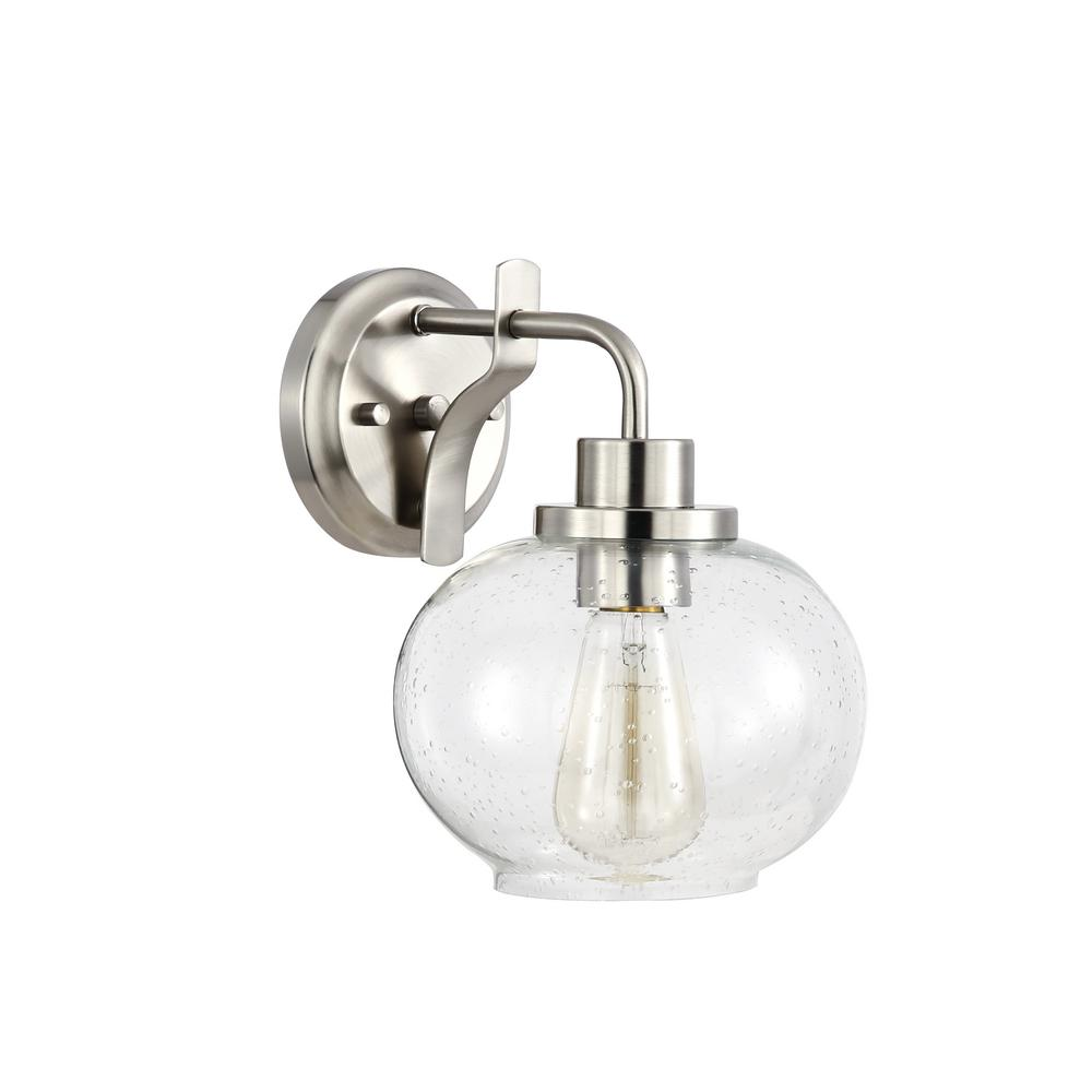 Poly and Bark Sheridan Satin Nickel Wall Sconce was $57.24 now $38.16 (33.0% off)