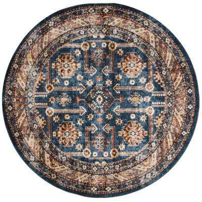Bijar Royal/Ivory 7 ft. x 7 ft. Round Area Rug