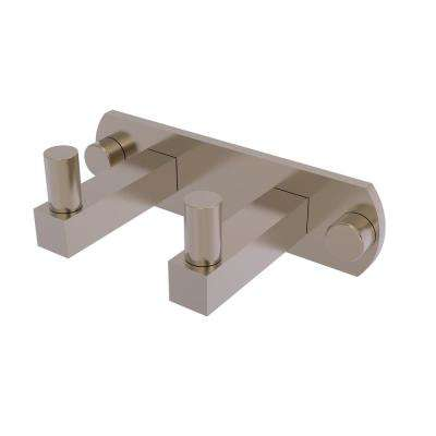 Montero Collection 2 Position Robe Hook in Antique Pewter