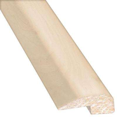 Vintage Maple Frosted 0.88 in. Thick x 2 in. Wide x 78 in. Length Hardwood Carpet Reducer/Baby T-Molding