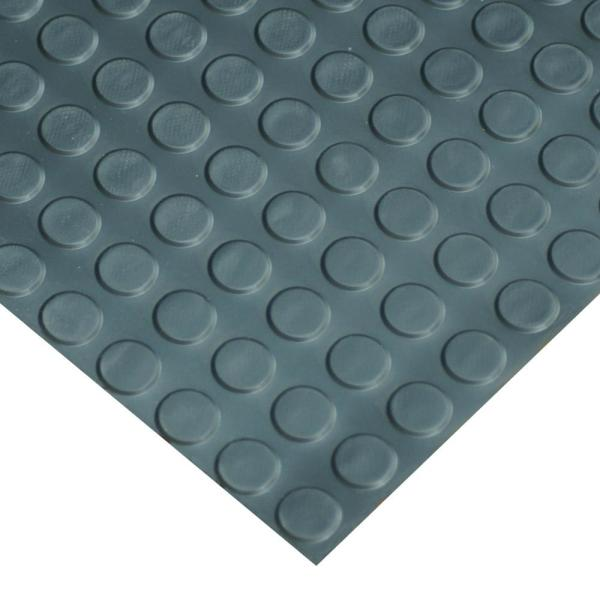 Goodyear Coin Pattern Rubber Flooring