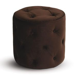 Ave Six Chocolate Accent Ottoman by Ave Six