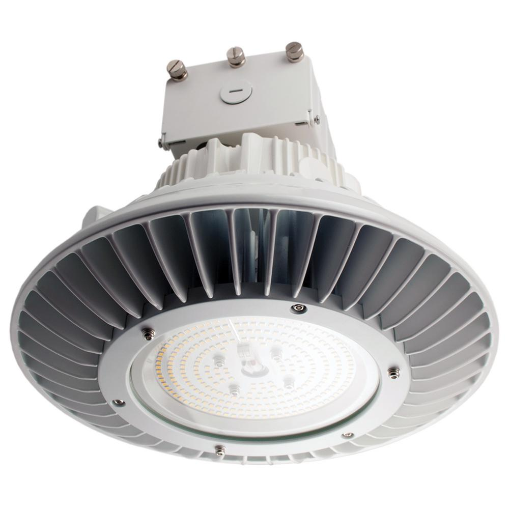 ProLED 250-Watt Equivalent White Integrated LED Round High Bay Ceiling Light