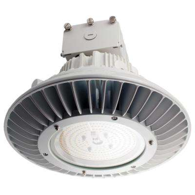 ProLED 250 Watt Equivalent White Integrated LED Round High Bay Ceiling Light  Fixture