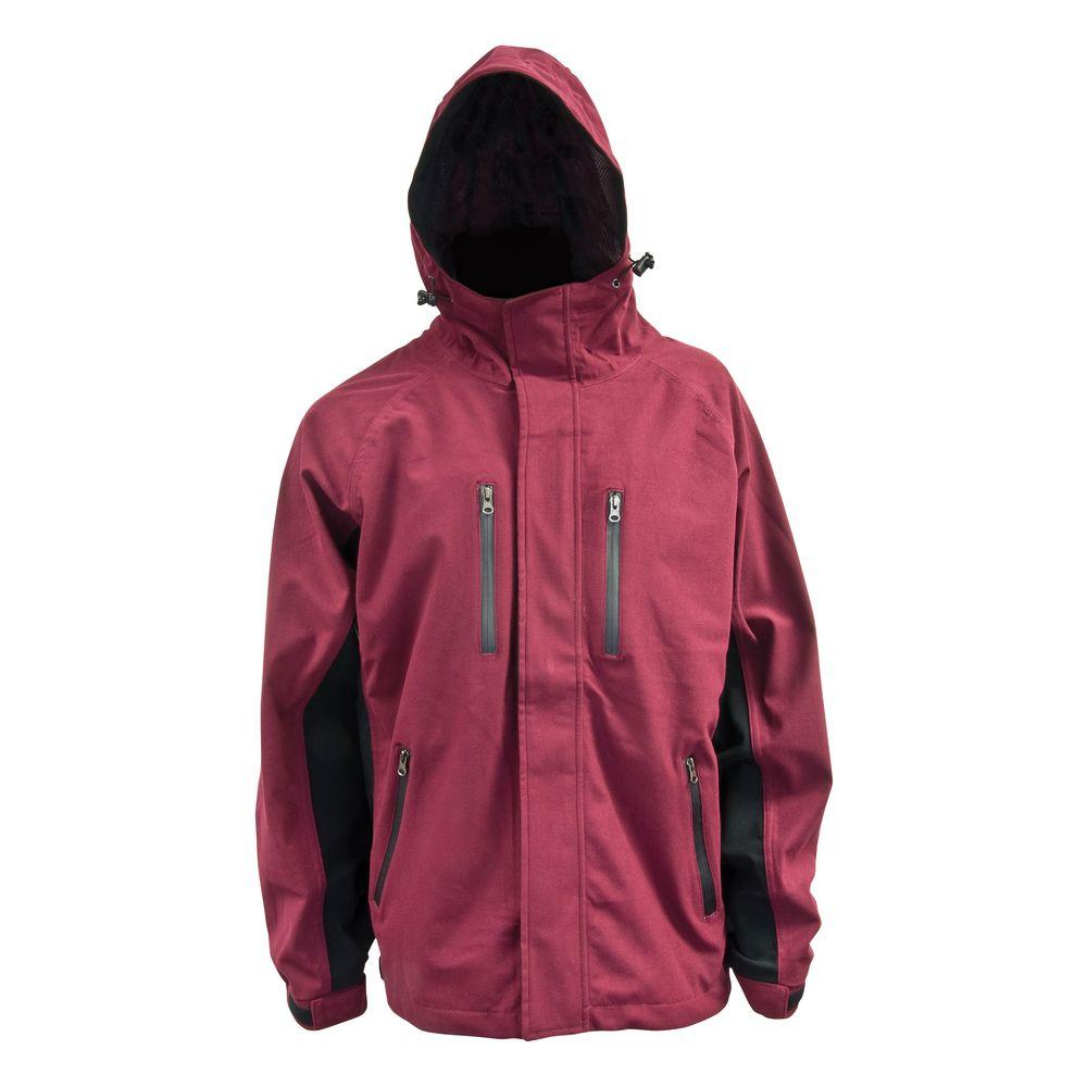 Mossi XT 2X-Large Rain Jacket in Burgundy-DISCONTINUED