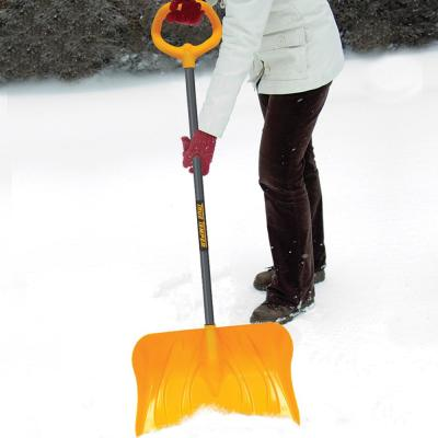 20 in. Poly Combo Snow Shovel