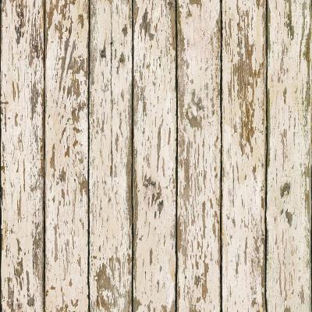 Weathered Brown Wood Wallpaper Sample
