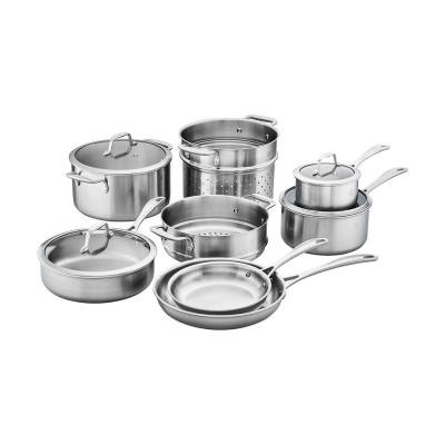 Zwilling Spirit 12-Piece Tri-Ply Stainless Steel Cookware Set