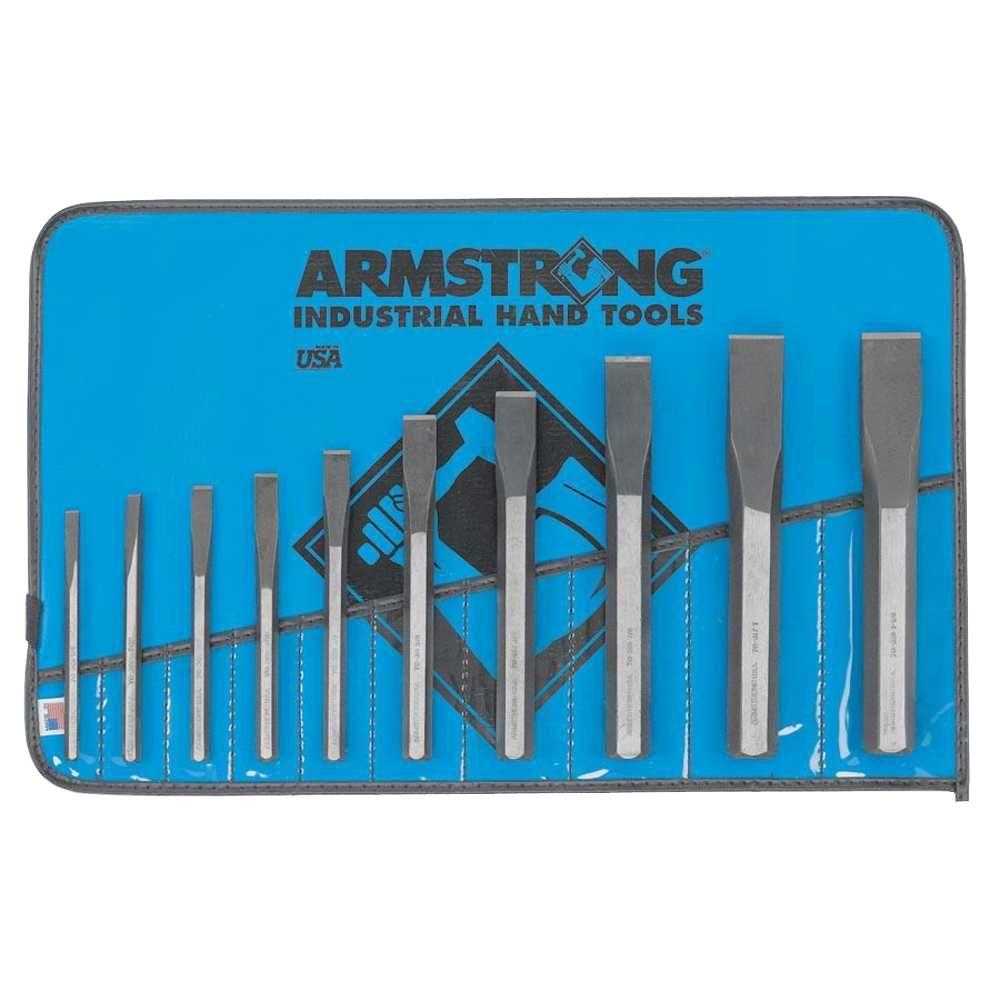 Armstrong Cold Chisel Set (10-Piece)