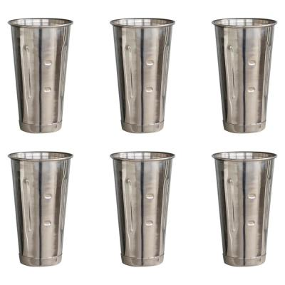 30 oz. Stainless Steel Malt Cup (6-Piece)