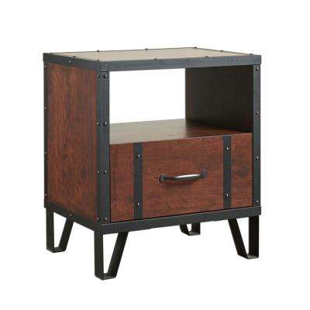 Mejor Vintage Walnut End Table