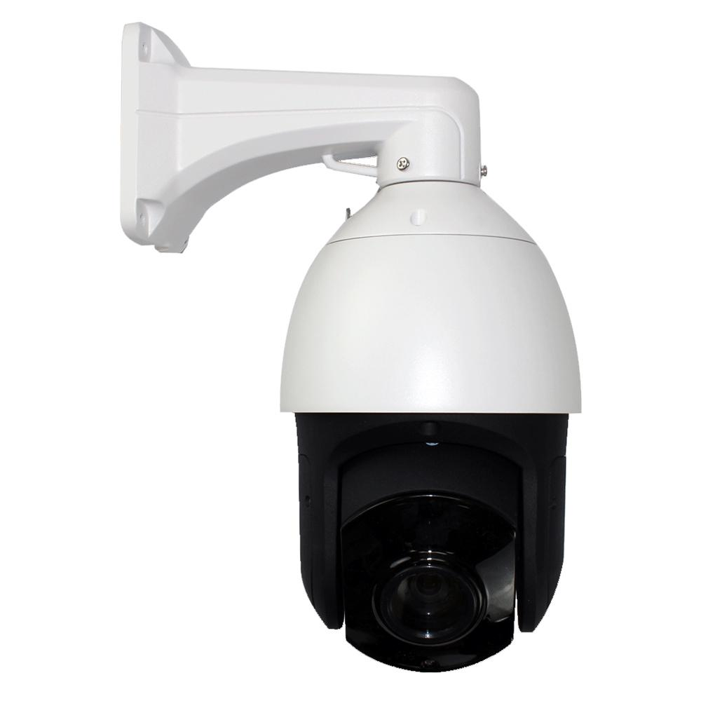 GW Security Wired 5MP IP Network Outdoor PTZ Surveillance Camera IR  Distance 130 ft  20X Zoom 360-Degree Pan HD 4 7-94 mm Lens