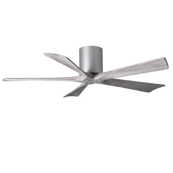 Irene 52 in. Indoor/Outdoor Brushed Nickel Ceiling Fan With Remote Control And Wall Control