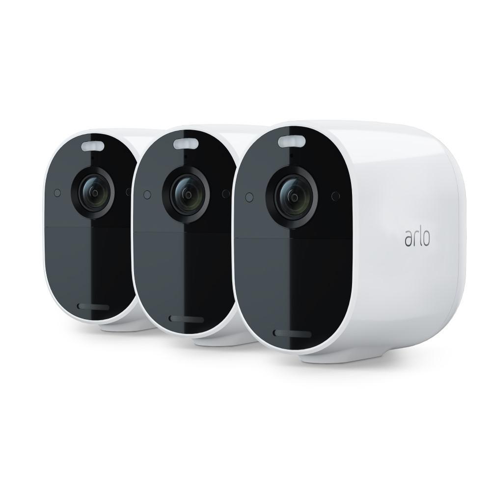 Essential Spotlight Wireless 3-Pack Camera, White