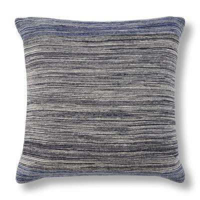 Navy Lagoon 20 in. x 20 in. Decorative Pillow