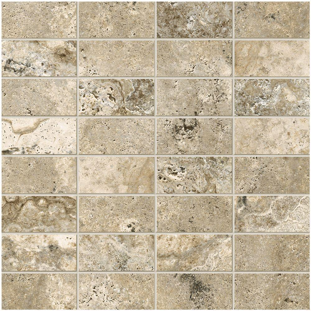 Marazzi travisano bernini 12 in x 12 in x 8 mm porcelain for Marazzi tile