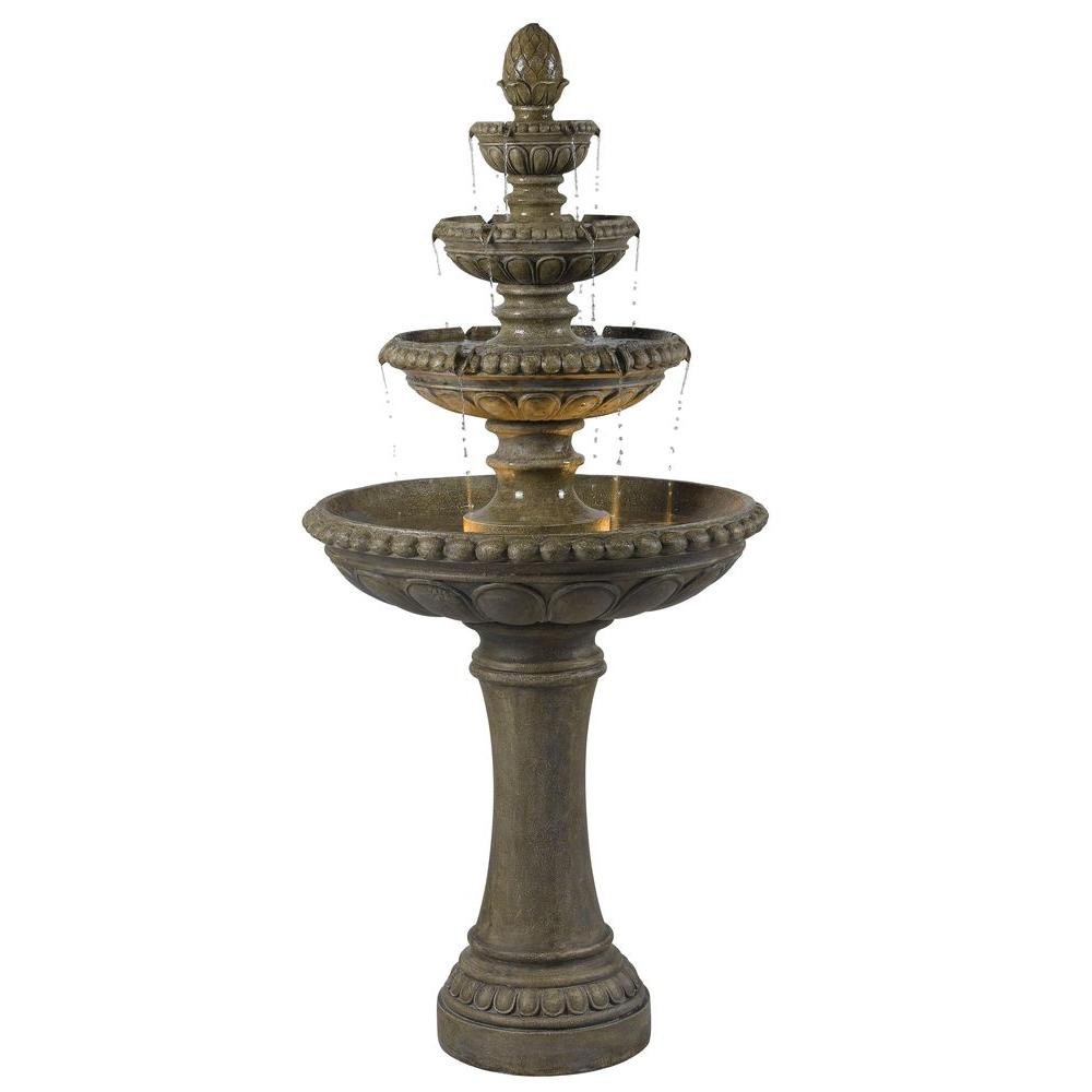 Gentil Kenroy Home Rialto Lighted Outdoor Fountain