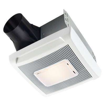 InVent Series 80 CFM Ceiling Roomside Installation Exhaust Bath Fan with Light