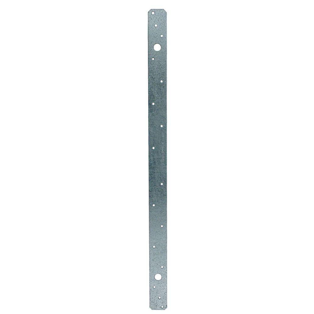 Simpson Strong-Tie MSTA 21 in. 18-Gauge ZMAX® Galvanized Medium Strap Tie