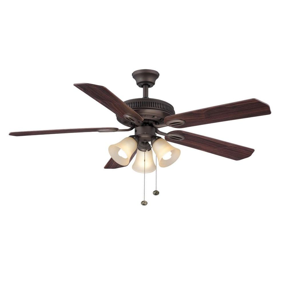 Glendale II 52 in. Oil Rubbed Bronze Ceiling Fan