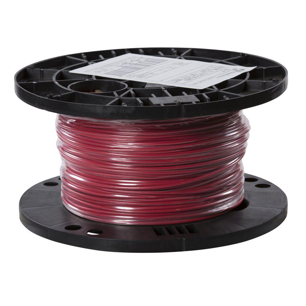 southwire 500 ft 12 red stranded cu xhhw wire 37103971 the home depot
