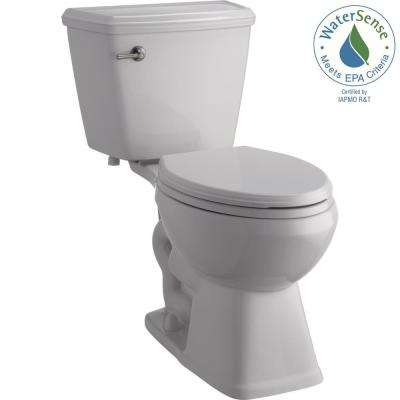 Luxford 2-Piece 1.28 GPF Single Flush Elongated Toilet in White