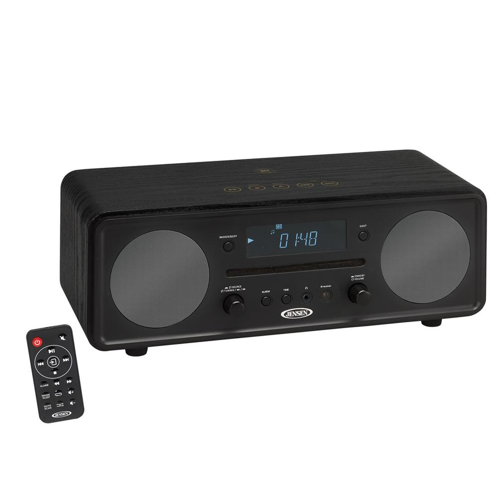 jensen bluetooth digital music system with cd jbs 600 the home depot rh homedepot com High-end Audio Shelf Systems High-end Audio Shelf Systems