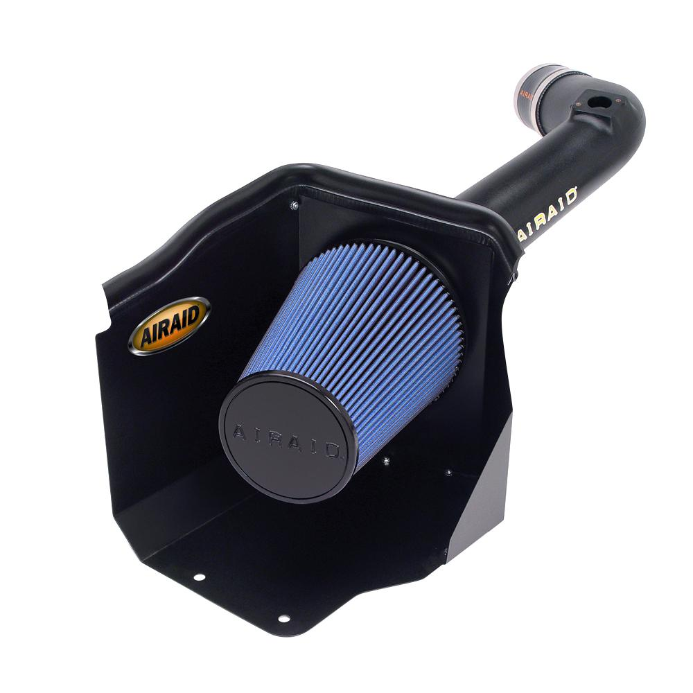 AIRAID 01-04 Chevy & GMC Duramax 6 6L LB7 CAD Intake System w/ Tube (Dry /  Blue Media)