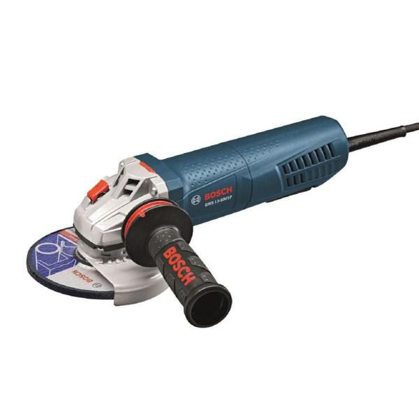 13 Amp Corded 5 in. Variable Speed Grinder with Paddle Switch