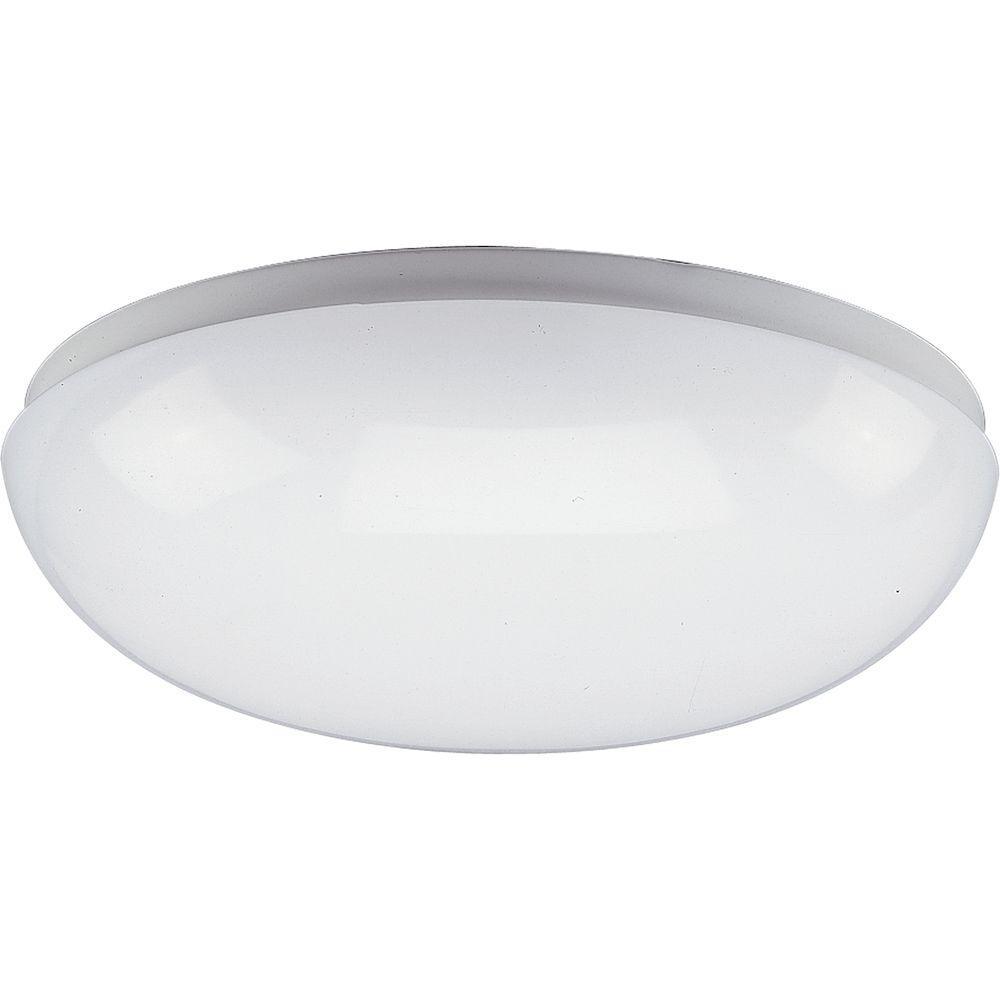 1-Light White Fluorescent Fixture