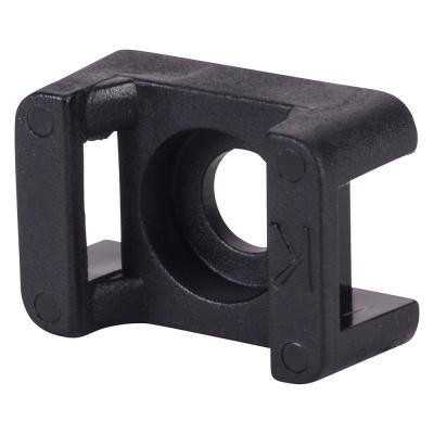 Cable Tie Push Mounts 5//16 Inch x 9//16 Inch Black 100 Per Pack