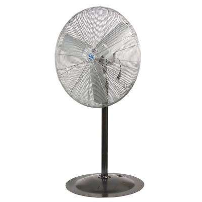 Mach Series High Performance 30 in. Pedestal Mount Air Circulator