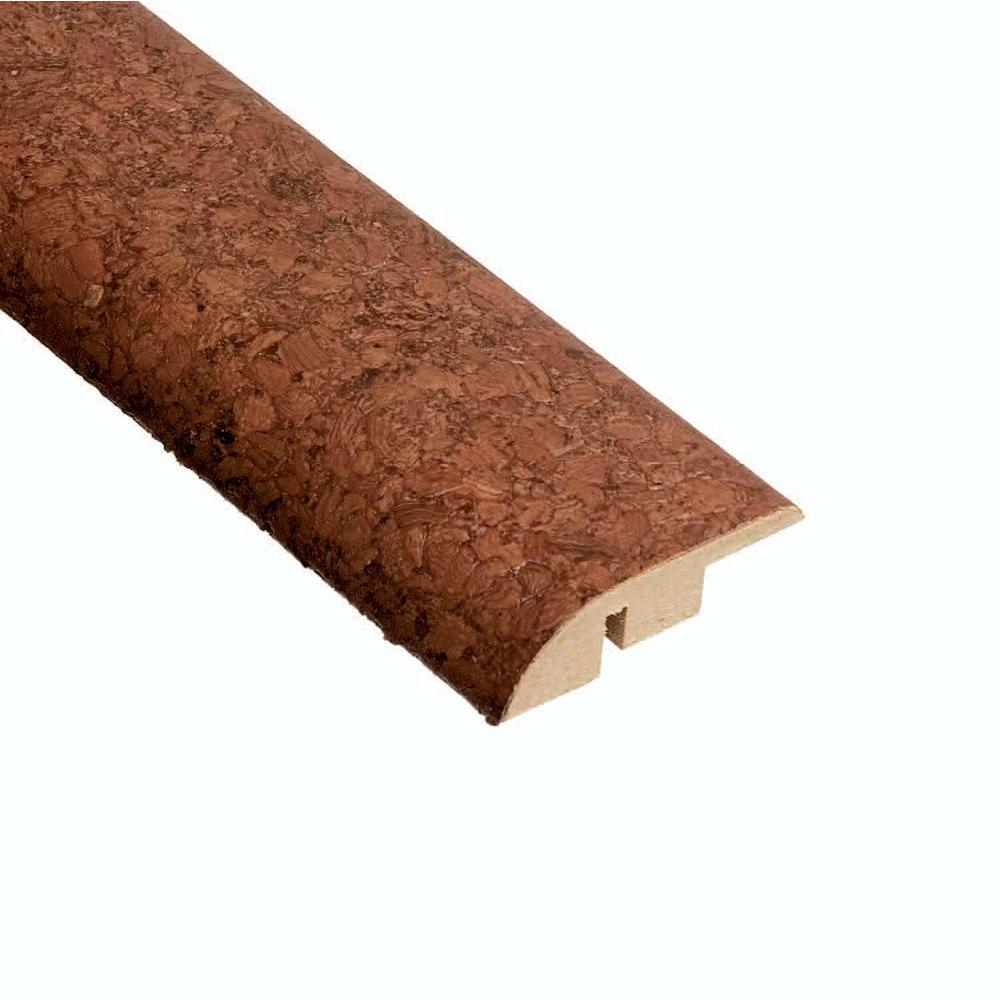 Home Legend Mocha 3/8 in. x 1-3/4 in. Wide x 47 in. Length Cork Hard Surface Reducer Molding